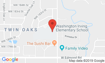 Clickable Map for Washington Irving Elementary 18101 N. Western Edmond, OK 73012